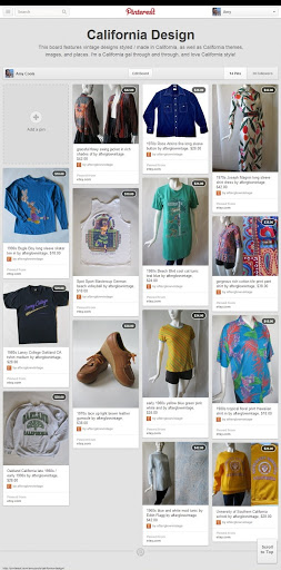 afterglow vintage / AC Clothing and Bags at Pinterest