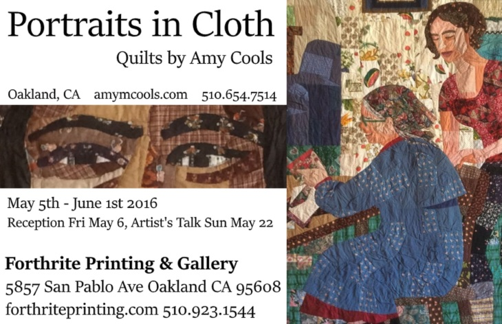 Forthrite Gallery Show Postcard, May - June 2016 larger